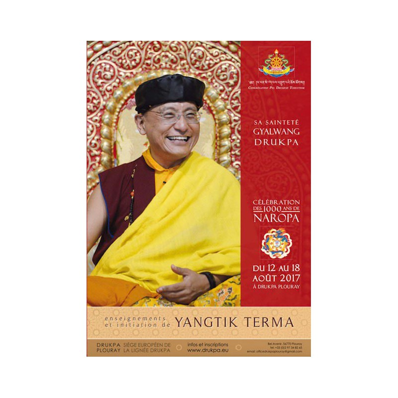 Teachings of the retreat of Yangtik and long version Yangtik practice - 8 DVD box