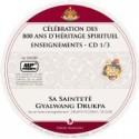 CELEBRATION DES 800 ANS D'HERITAGE SPIRITUEL